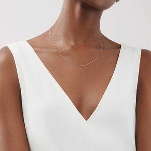 """Tiffany & Co. 16"""" Silver Chain"""